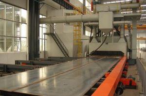 Steel Plate Shot Blasting Machine